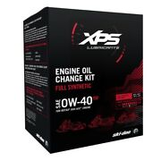 Ski-doo 4t 0w-40 Synthetic Oil Change Kit For Rotax 600 Ace 415130166