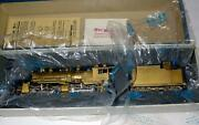 Pacific Fast Mail Brass Ho Scale Denver And Salt Lake 2-6-6-0 Steam Locomotive