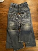 Two Pairs Ariat Fr M4 Low Rise Boot Cut Dark Wash Jeans Mens Size 31x30