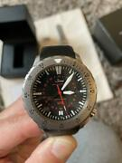 Sinn U2 Automatic Tegimented U-boat Steel Rubber Diver Black 2000m Box And Papers