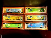 6-tyco State Of The Union 50andrsquo Box Cars With Original Boxes