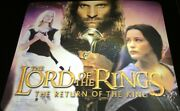 Lord Of The Rings Mouse Pad Holographic Return Of The King Rare Lotr