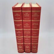 Grolier Classics Lot Of 3 Shakespeare, Plato, Chaucer Etc. 1955-1956 Hardcovers