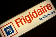 Vintage Frigidaire Appliances Lighted Advertising Sign Working 1950 1960