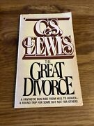 The Great Divorce- Cs Lewis Collier Paperback 1978 41st Printing
