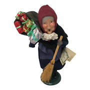 Byers Choice Caroler Old Befana Italian Christmas Witch Presents Hang Tag 1994