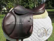 18 Equipe Expression Monoflap Cross Country Jumping Saddle-2018 Model Mint
