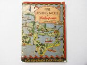 Tough Vintage 1936 Shakespeare Fishing Tackle Catalog 148 Pages
