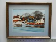 Aiden Lassell Ripley New Hampshire Town, Pittsfield Framed 11x14 4.0 508