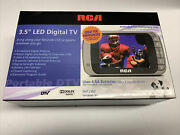 Rca Dht235c 3.5 Led Digital Handheld Emergency Tv Great Condition