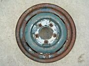 Original 1940and039s Or 1950and039s Ford Car And Truck Steel Wheel - Rim 15 X 5 Oem 7013