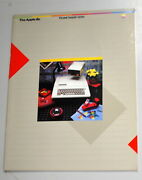 The Apple Iie Personal Computer System Brochure 1982 Ships Worldwide
