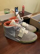 Nike Air Yeezy 2 Pure Platinum Size 10 With Box 100 Authentic From Ebay