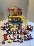 Disney Sofia The First Magical Talking Castle Play Set W/ Dolls And Accessories