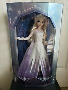 """Rare In Hand- Disney Frozen 2 Snow Queen Elsa Limited Edition Le 17"""" Doll"""