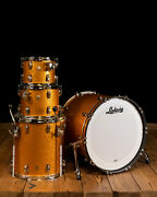 Ludwig Classic Maple 4-piece Mod Drum Set - Gold Sparkle - Free Shipping