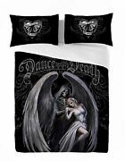 Anne Stokes Dance With Death Duvet And Pillow Cover Set Uk Superking /us Kingsize