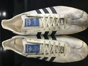 Vintage Adidas Olympia Made In West Germany 70s City Series Tobacco Rom