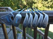 Ladies Vanquish Acuity 14 Piece Golf Club Set W/ Head Covers. Women's With Bag