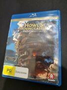 Howls Moving Castle Blu-ray - Aus Pal Rare - Free Post