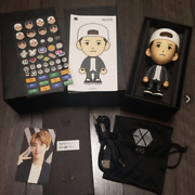Exo Baekhyun Figure Bluetooth Speaker Trading Cards And Stickers Included