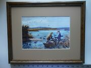 Aiden Lassell Ripley Setting Out Framed 11x14 5.7ao518