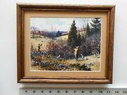 Aiden Lassell Ripley Grouse Shooting 8x10 Framed 2.1 518
