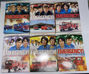 Emergency Tv Series Complete Season 1-6 1 2 3 4 5 And 6 25-disc Dvd Set