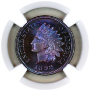 1898 Pf66 Bn Ngc Indian Head Penny Premium Quality Proof Example