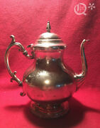 1940s National Silver On Copper Tea Pot
