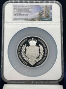 2017 Queens Uk Sapphire Jubilee Andpound10 Pf70 Ultra Cameo One Of 200 Very Rare