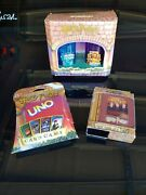 Harry Potter Uno Playing Cards Euc Tumbler Set New And Card Game In A Box Euc
