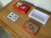 Boxed Cgl / Nintendo Game And Watch Mickey And Donald 1982 Vintage Lcd Game - Vgc.