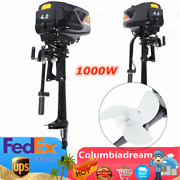 48v Electric Outboard Trolling Motor Fishing Boat Engine Propeller 1000w Usa