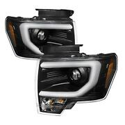 Spyder Auto Projector Headlights For 2012 Ford F-150 Fx4 C9c80f-67bc