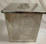 Verbena Botanicals Garden Tissue Glass With Stainless Lid Tissue Box Cover