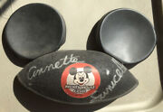 Annette Funicello Hand Signed Autographed Mickey Mouse Ears One Of A Kind Coa