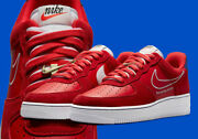 Nike Air Force 1 And03907 Lv8 University Red White Db3597-600 Menand039s Multi Size New