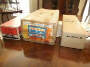 Lionel Empty Santa Fe 2333 Pandt Boxes And Liners With Master Carton 1949