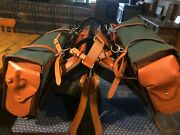 Australian Horse Pack Saddle Complete With Canvas Bags And Pack Harness