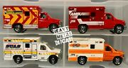Matchbox And03909 Ford E-350 Ambulance Variation Lot Andtimes4 2009 2015 2017 Used