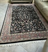 100 Wool Hand Woven Imported Made In India Oriental Rug Genuine - Gorgeous