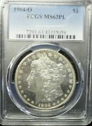 1904-o Morgan Dollar Pcgs Ms63 Pl  Dollar Prices Are Going Up