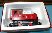 Lgb 21900 G Scale Red No.7 Duo-system Diesel Shunting Engine Light W/ Box
