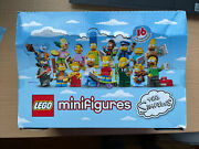 Lego New 71005 Series Simpsons 1 Box Of 60 Minifigures Case Collectable