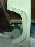 1957-1958 Ford Truckandnbsp Front Fenders Driver Side