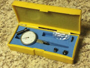 Peacock Dial Test Indicator 2000 Jeweled .0005 Machine Inspection W/case