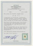 Helgoland Farthings Michel Number 17a Postmarked Bpp Certificate