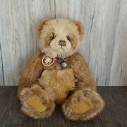 Charlie Bear And039cindersand039 Cb104709b Designed By Isabelle Lee - 36cm 14 Tall