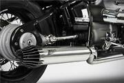 Zard Exhaust Full System 2 Into 2 Stainless Steel Bmw R18 Classic 2021